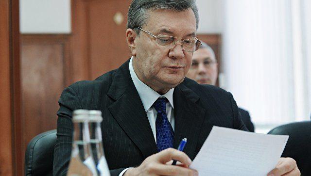 Всуде поделу Януковича поведали одавних планах РФ поУкраине