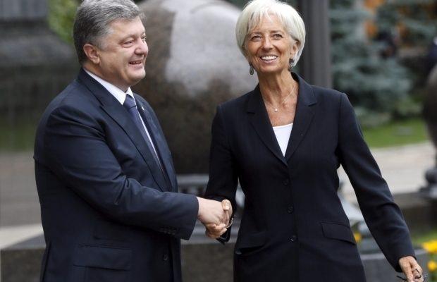 Лагард иПорошенко планируют увидеться вДавосе— МВФ