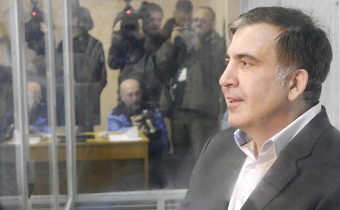 Саакашвили устроил истерику из-за повестки вСБУ