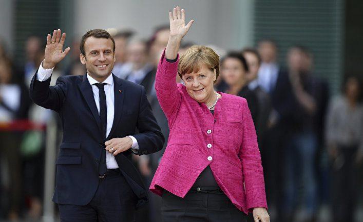 Германия иФранция работают над новым контрактом осотрудничестве