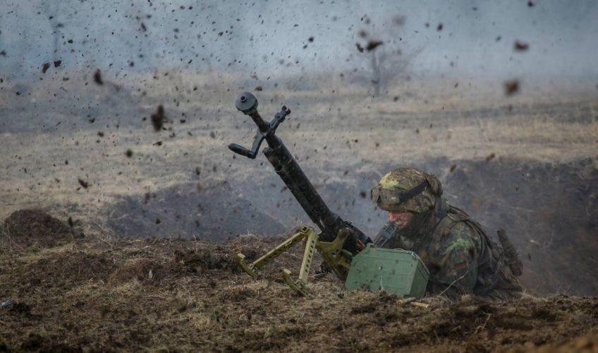 Вовремя минометного обстрела боевиков умер военнослужащий ВСУ— Штаб