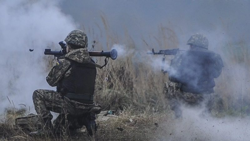 НаДонбассе отпули снайпера умер боец АТО