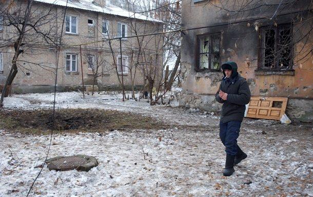 Гражданин прифронтового Гранитного получил пулевое ранение, убирая снег удома