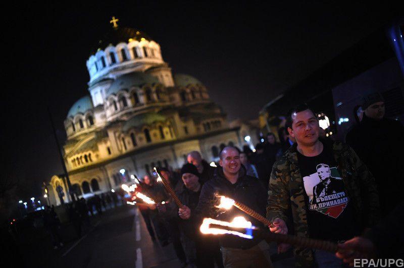 ВБолгарии прошел марш неонацистов