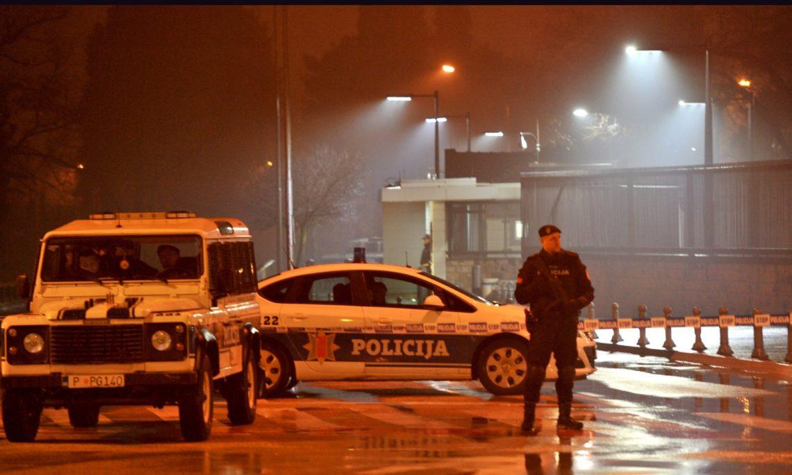 Мужчина бросил впосольство США вЧерногории гранату иподорвал себя