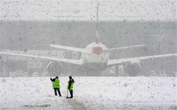 «Борисполь» изменил расписание рейсов— Непогода вгосударстве Украина