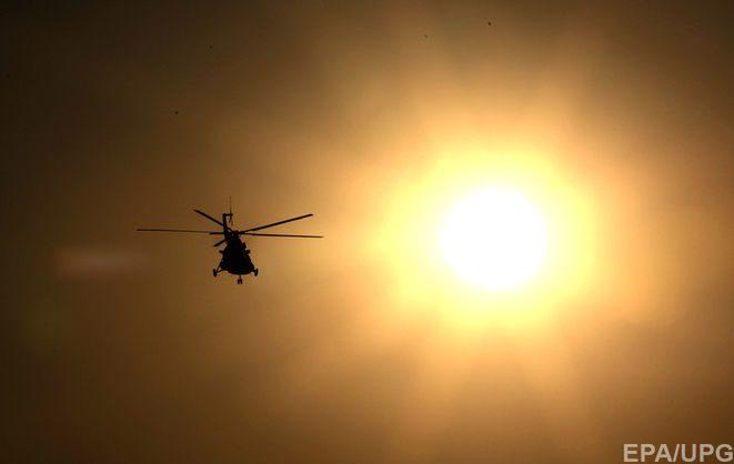 Відзначається що на борту вертольота перебували дев'ять осіб щонайменше п'ять із них загинули. За інформацією вертоліт впав до ущелини Ха