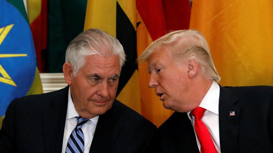 Президент США Дональд Трамп уволил государственного секретаря Рекса Тиллерсона и заменит его директором ЦРУ Майком Помпео