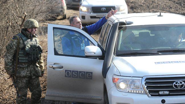 ОБСЄ завихідні нарахувала 92 вибухи наДонбасі