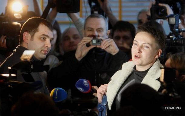 Шевченковский районный суд украинской столицы изберет меру пресечения для Надежды Савченко