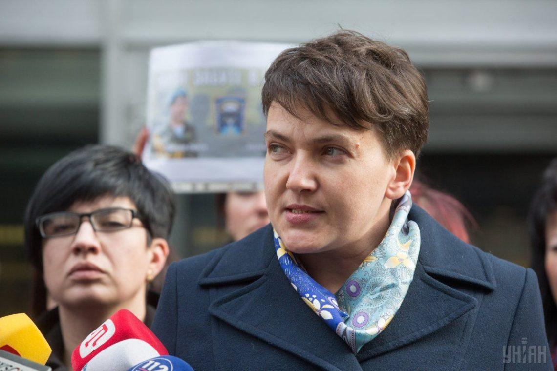 Суд избирал меру пресечения Савченко