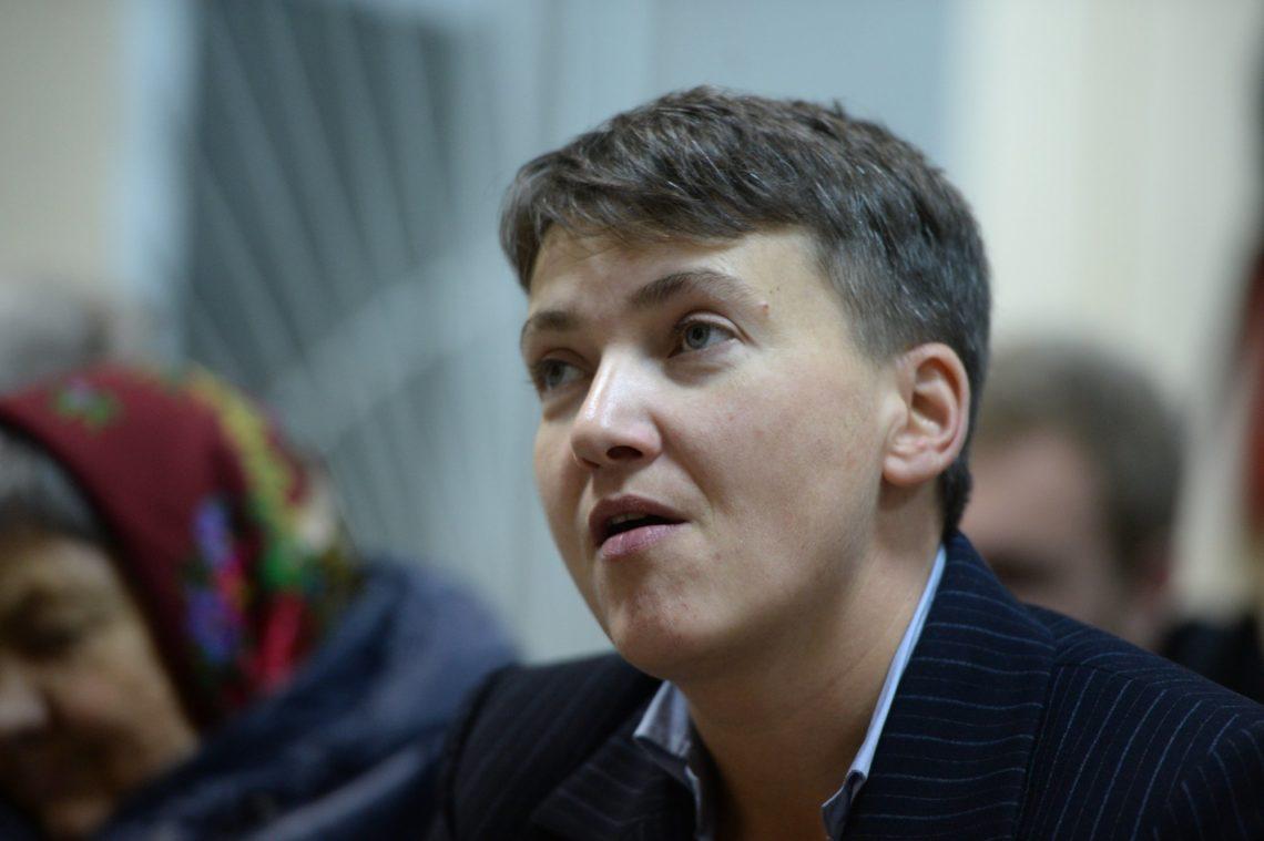 Савченко обматерила обвинителя взале суда