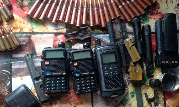 Милиция изъяла ужителя Одесской области арсенал оружия