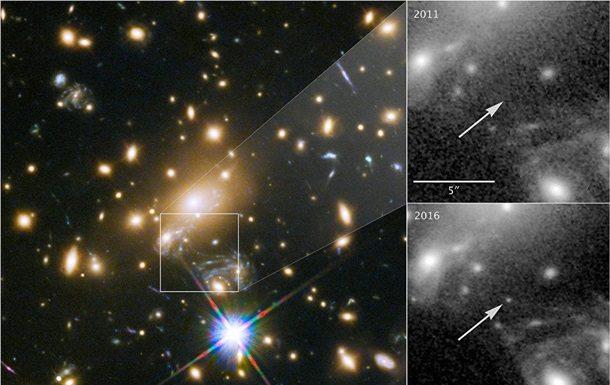 Ученые обнаружили самую далекую звезду в9 млрд световых лет отЗемли