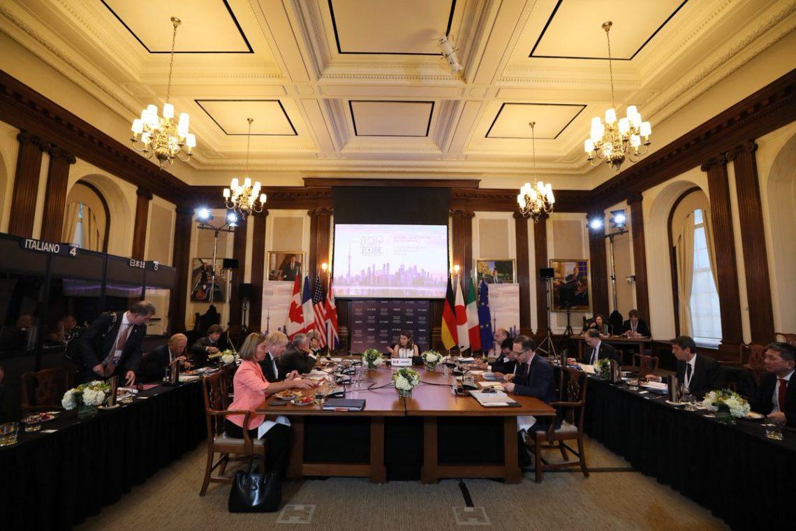 Страны G7 сохранят санкционную политику вотношении Российской Федерации