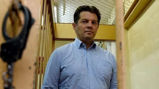 Украина направилаРФ ноту протеста из-за перевода Сущенко в«одиночку»