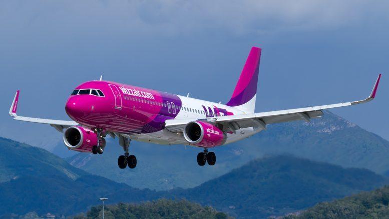 Лоукост Wizz Air открыл три новых маршрута из столицы Украины