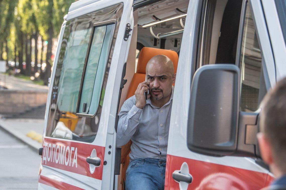 Киев: депутат Найем сказал, что нападавший нанего вылетел вАзербайджанской столице