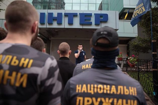 ОБСЕ осудила попытку поджога украинского канала «Интер»