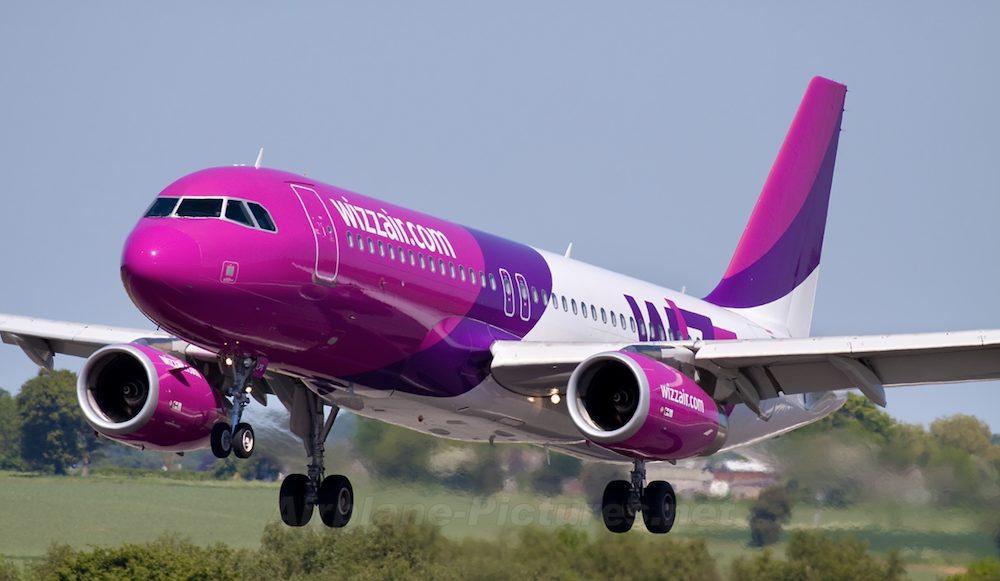 Wizz Air открыла новые рейсы из столицы Украины