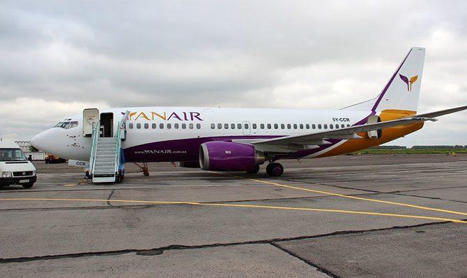 Аэропорт Львов временно закончил обслуживать рейсы Yanair из-за долгов