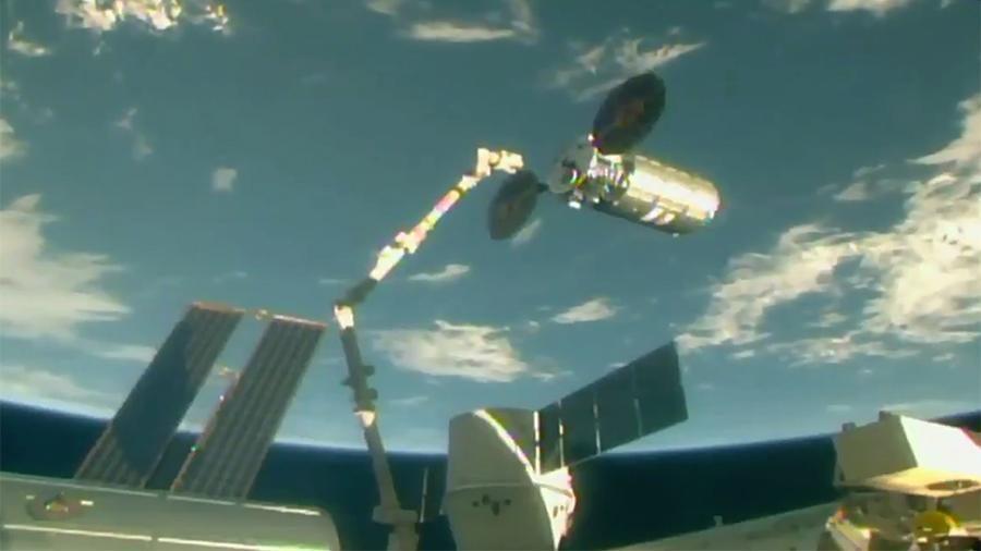 Космический грузовой автомобиль Cygnus отстыкуется отМКС 15июля