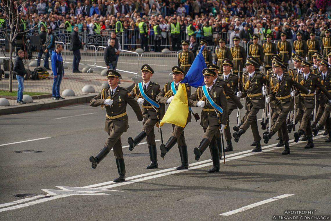 Полторак: напарад коДню независимости выйдут 4500 военных