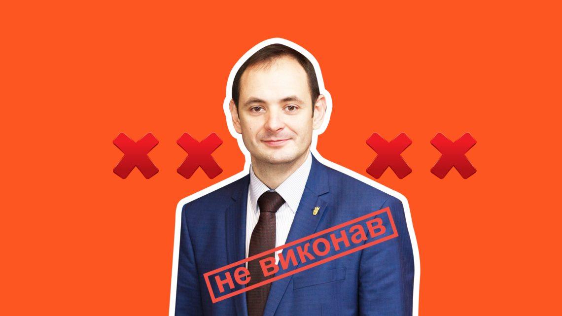 Зовнішнє освітлення біля всіх навчальних закладів Івано-Франківська не з'явиться в 2018 році, як обіцяв Марцінків