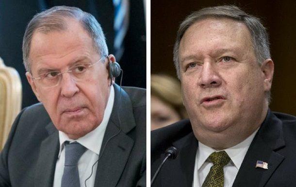 WP: Помпео запросил встречу сЛавровым перед введением 2-го  пакета санкций США