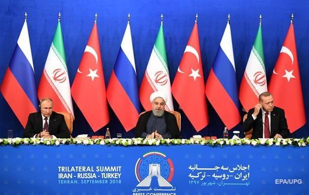 Иран и Турция заявили что сохранят свое присутствие в Сирии. Эрдоган раскритиковал Асада