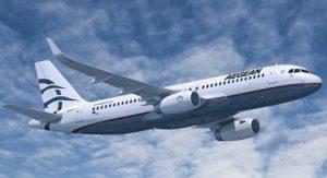 Грецька Aegean Airlines призупинить польоти в Україну