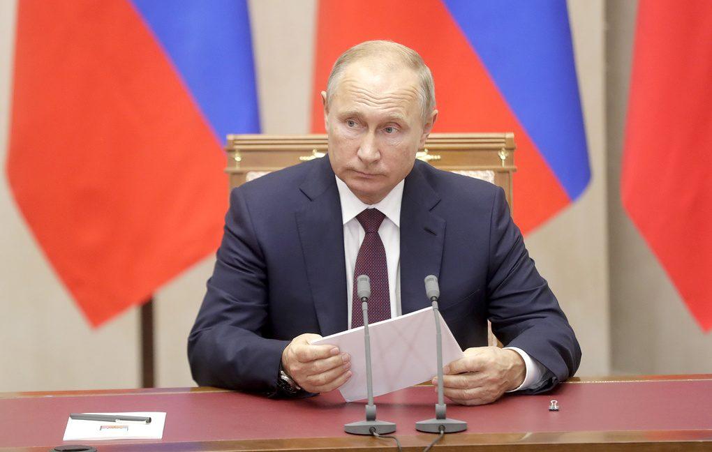 Путин поручил ввести санкции против Украины— Санкции РФ