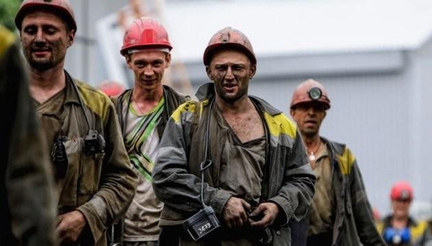 Кабмин  принял решение выделить полмиллиарда грн  на заработной платы  шахтерам