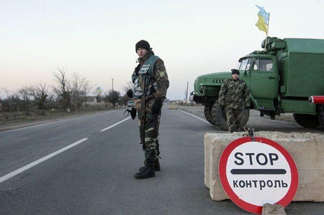 Украина сократила график работы собственных  КПП вДонбассе