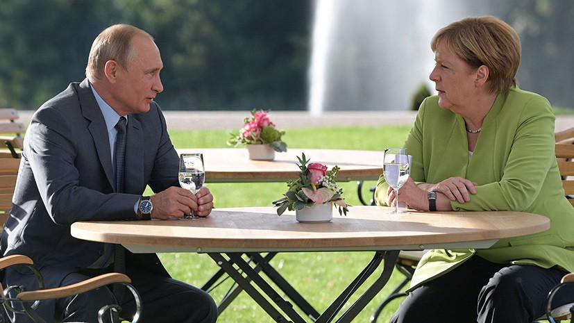 Меркель обсудила сПутиным вопрос освобождения украинских моряков