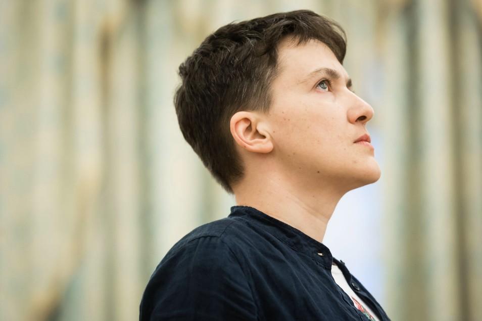 Савченко написала, что частично потеряла зрение ислух