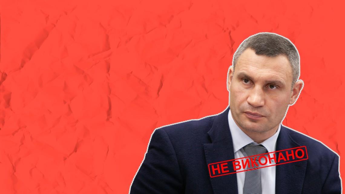 Кличко провалив обіцянку демонтувати 1,6 тисячі кіосків у столиці протягом 2018 року. У мерії повідомили, що з вулиць прибрали трохи більш ніж тисячу незаконних МАФів.