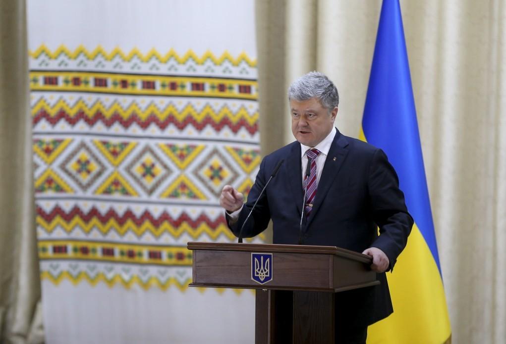 Порошенко: в2014г.  Украина сократила импорт газа на4 млрд кубометров