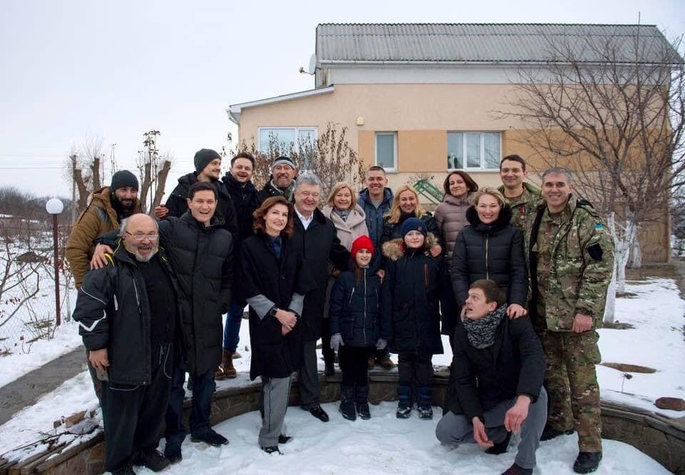 Порошенко Сеитаблаев— Президент встретился с создателями фильма Киборги