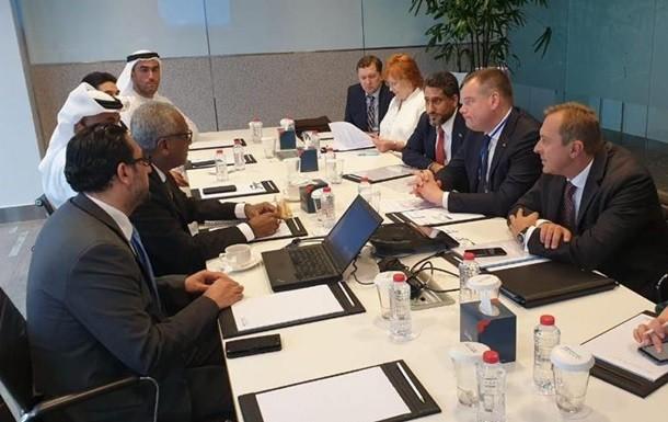 Арабское управление по инвестициям и развитию и украинская компания STC Energy подписали инвестиционное соглашение на 2 млрд долл.
