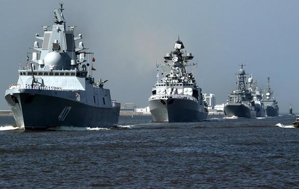 Ударную группировку кораблей бросила Российская Федерация  против НАТО