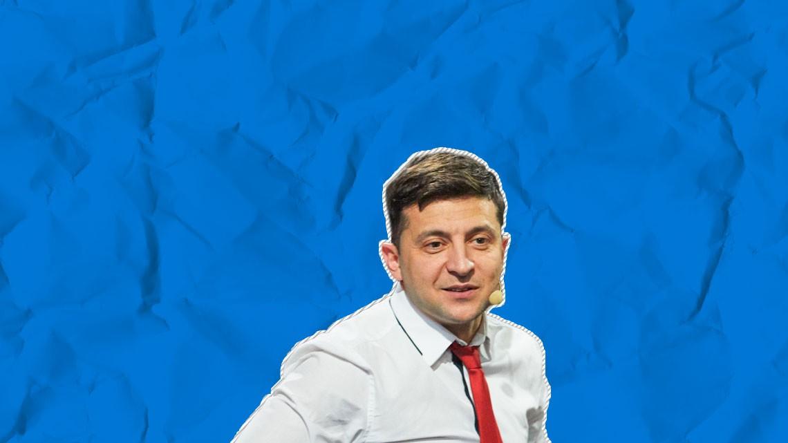Кандидат у президенти Володимир Зеленський звернувся до свого опонента і чинного глави держави Петра Порошенка із закликом перейти від обіцянок до дій.