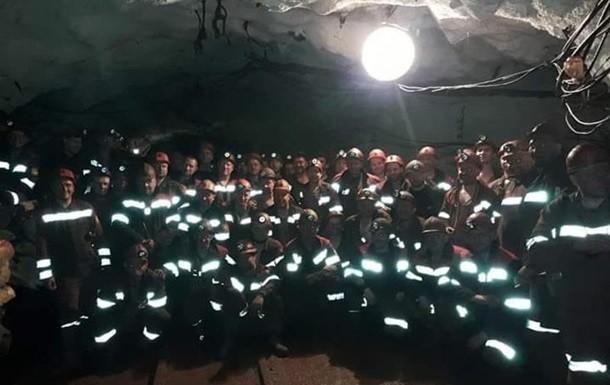 ВКривом Роге 150 шахтеров бастуют под землей