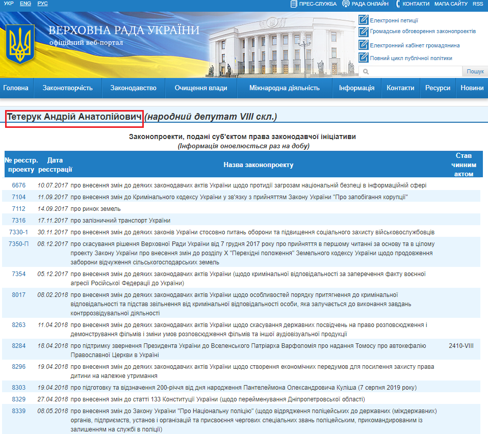 http://w1.c1.rada.gov.ua/pls/pt2/reports.dep2?PERSON=17947&SKL=9